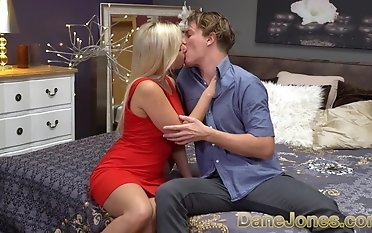 Dane Jones German light-haired Gabi Gold labia munched ravaged