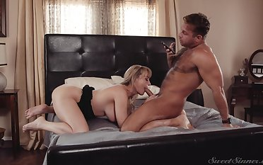 Mind sullied mommy porn with a man's cock which is huge