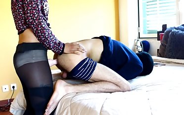 escort pounded his ass