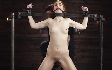 Submissive redhead ass fucked after a long time being self-conscious