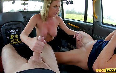 The cab driver's boundless dick suits this prexy mature obese time