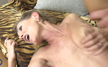 Grandmother mommy and daughter-in-law take youthfull jizz-shotguns